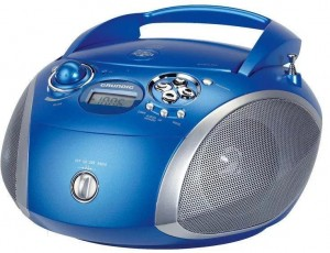Boombox GRUNDIG GRB2000 Radio CD USB MP3