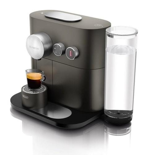 Masywnie Ekspres na kapsułki Nespresso DeLonghi EN350.G Expert & milk w FY31